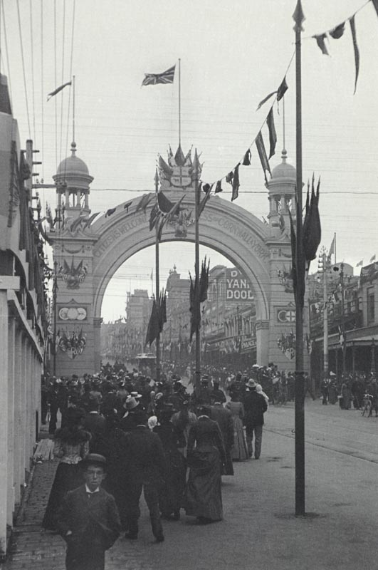 The Federation Arches of Melbourne