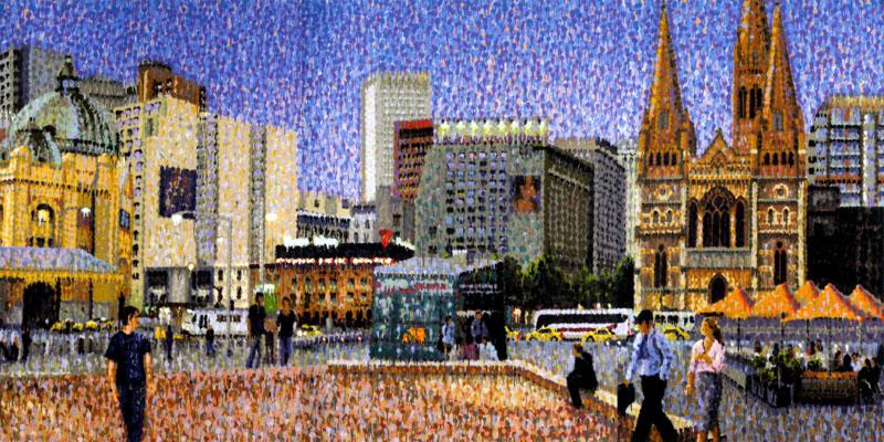 Melbourne in Art