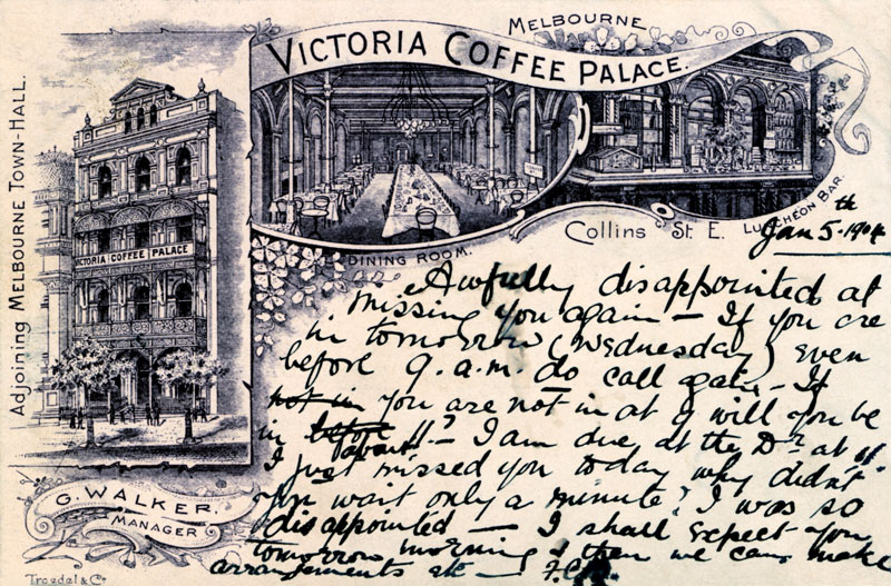The Victoria Hotel (former Victoria Coffee Palace)